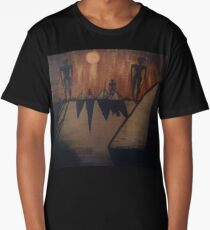 Otherworldly Invasion Acrylic Painting Long T-Shirt