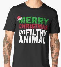 MERRY CHRISTMAS  YA FILTHY ANIMAL T-SHIRT Men's Premium T-Shirt