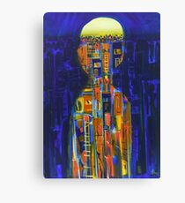 urban state of mind Canvas Print