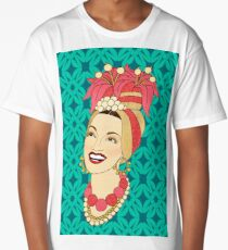 Carmen Miranda Long T-Shirt