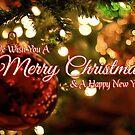 We Wish You A Merry Christmas by Daniel Lucas