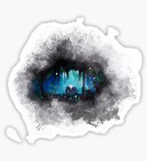 Waterc-Hollow-r Knight Sticker