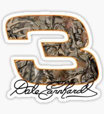 Dale Earnhardt Camo Sticker