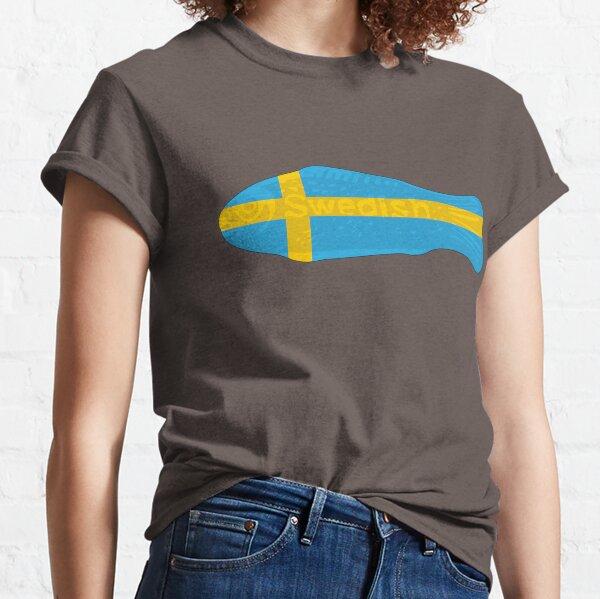 Swedish Fish in Swedish Flag Tshirt Classic T-Shirt