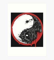 Gore YingYang Art Print