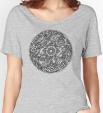 ZenTangle Ring of Daisies Women's Relaxed Fit T-Shirt