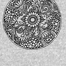 ZenTangle Ring of Daisies by Ameda