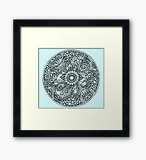 ZenTangle Ring of Daisies Framed Print
