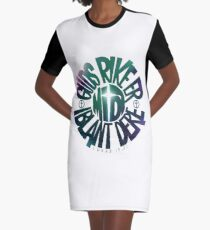 Guds rike er midt iblant dere Graphic T-Shirt Dress