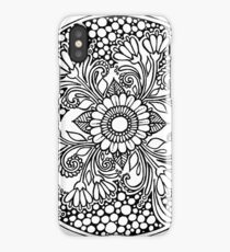 ZenTangle Ring of Daisies iPhone Case/Skin