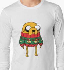 Jake the Dog Adventure Time Christmas Jumper Long Sleeve T-Shirt