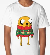 Jake the Dog Adventure Time Christmas Jumper Long T-Shirt