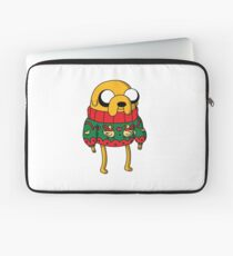 Jake the Dog Adventure Time Christmas Jumper Laptop Sleeve