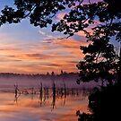 Sheriff Lake Sunrise by April Koehler