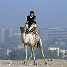 Policeman on a Camel by dunawori