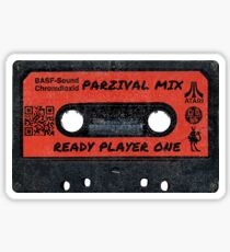 Ready Player One Parzival Distressed Sticker