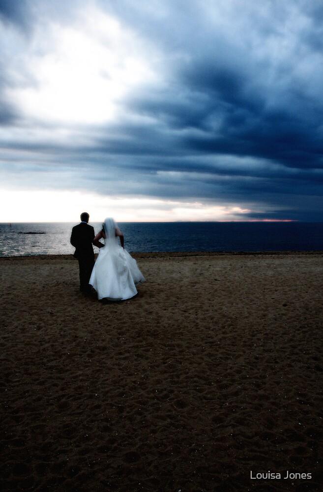 beach & sky by Louisa Jones
