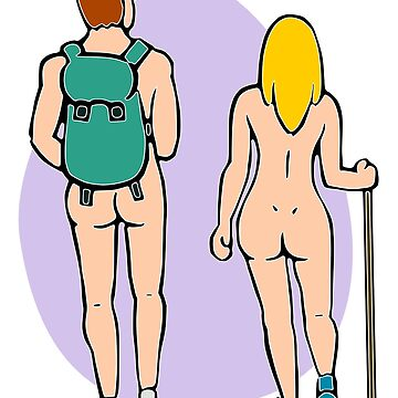 Nude Hiking Couple by Nude-is-Life