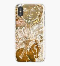 Cosmic Tarot - The Sun iPhone Case/Skin