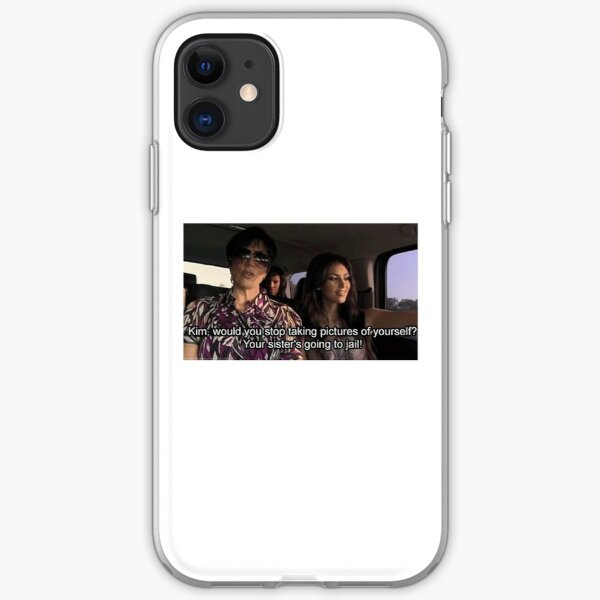 Kim Your Sister's going to Jail iPhone Soft Case