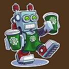 Barista-Bot 9000, Robot by CraigWoida