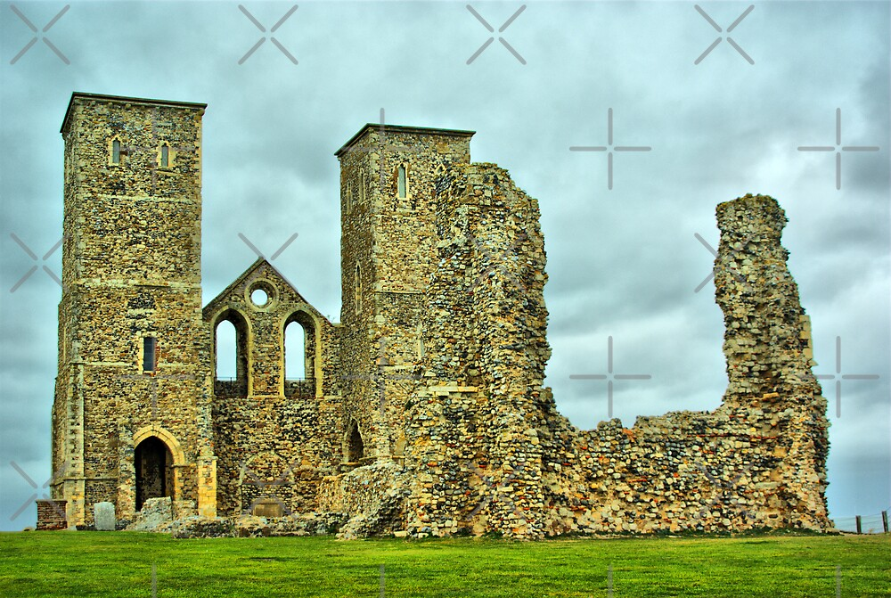 Reculver Towers by Catherine Hamilton-Veal  ©