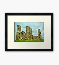 Reculver Towers Framed Print