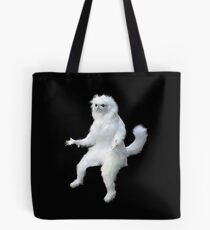 Persian Cat Room Guardian Meme Tote Bag