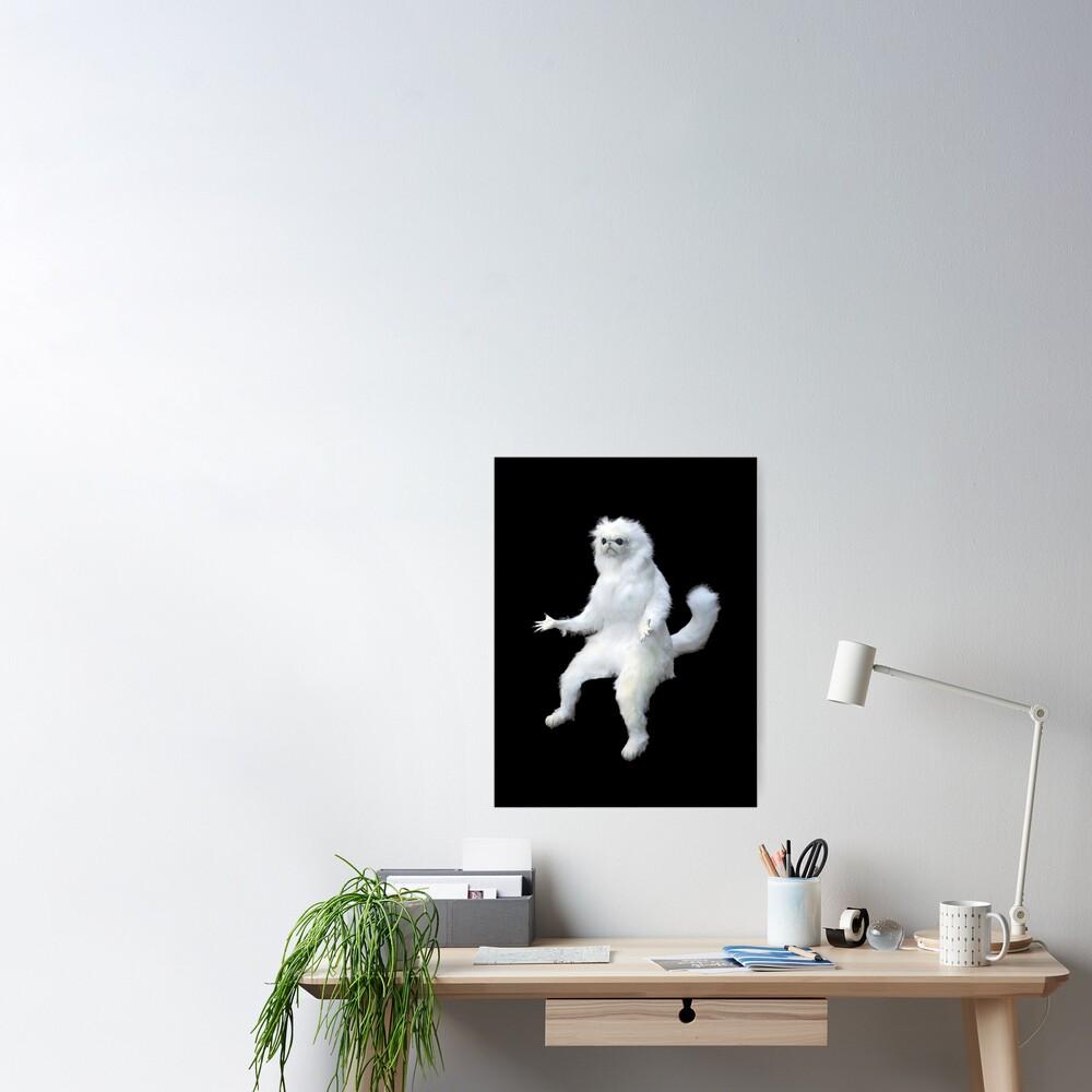 Persian Cat Room Guardian Meme Poster