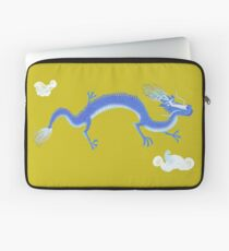 Blue Dragon and Mountain Laptop Sleeve