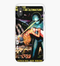 Science Fiction Movie RETRO The Day the Earth Stood Still iPhone Case/Skin
