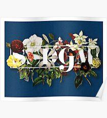 SSDGM Murderino Flower Illustration My Favorite Murder Poster