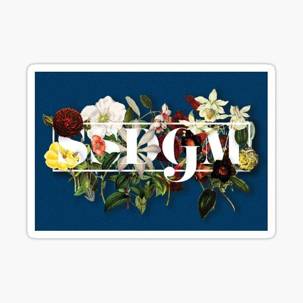 SSDGM Murderino Flower Illustration My Favorite Murder Sticker