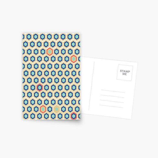 Digital Honey Comb Postcard