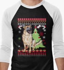 German Shepherd Christmas Sweater.White German Shepherd Christmas T Shirts Redbubble