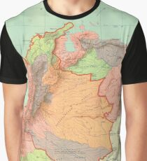 old map Graphic T-Shirt