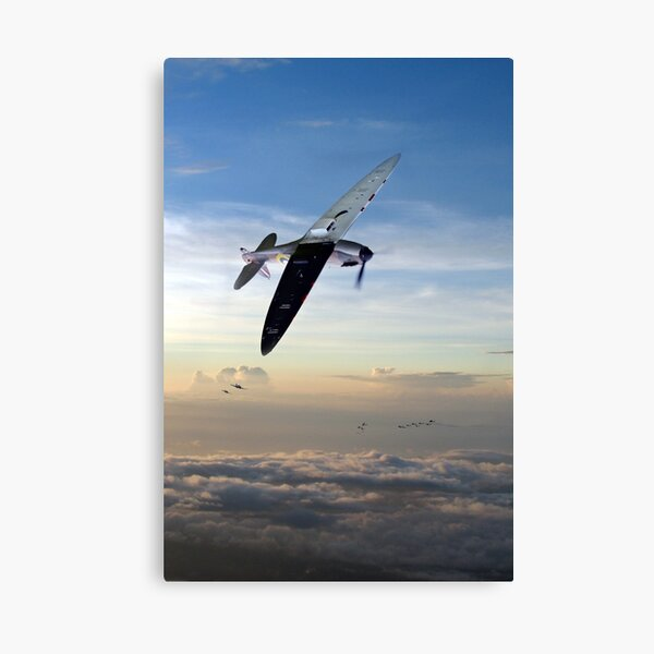 Engaging The Enemy  Canvas Print