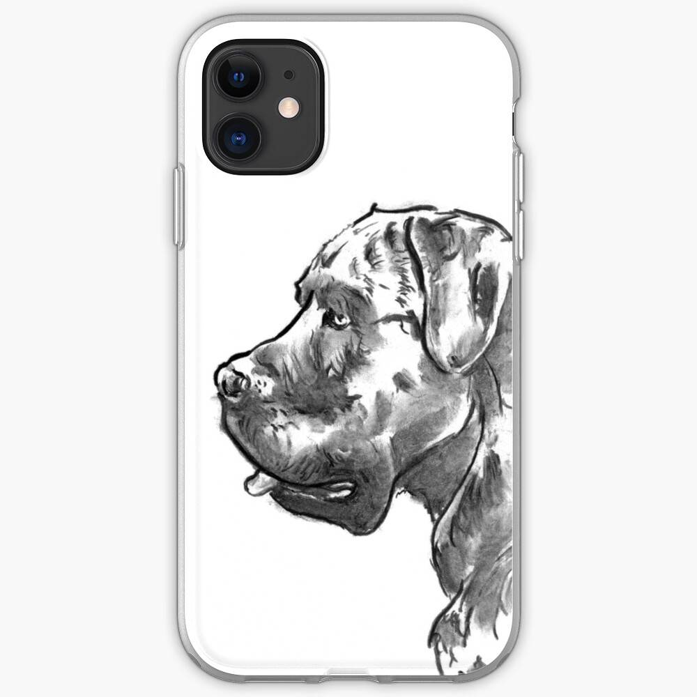 Cane Corso Drawing iPhone Case & Cover