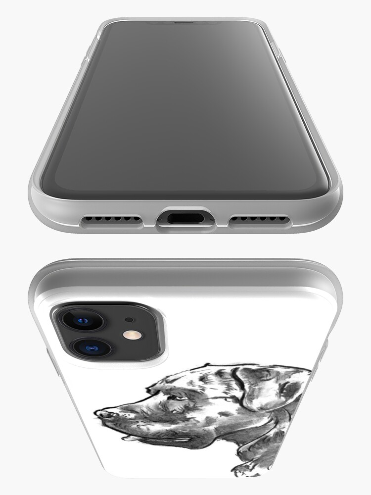 Alternate view of Cane Corso Drawing iPhone Case & Cover