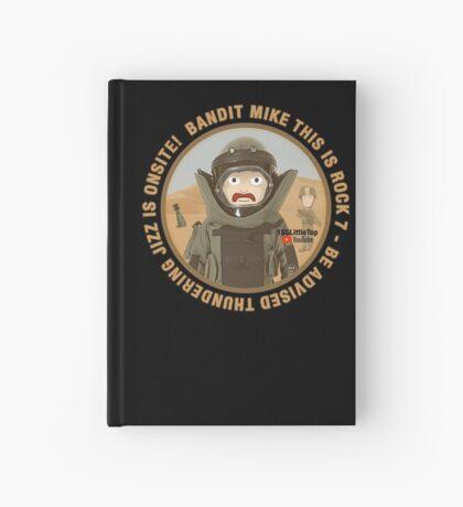 THUNDERING JIZZ IS ONSITE Hardcover Journal
