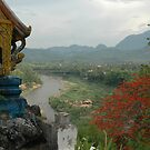 Nam Khan River, Luang Prabang, Laos by Trevor Needham