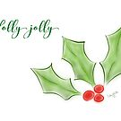 Holly Jolly  by LauraMuirhead