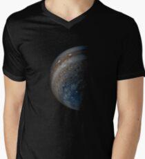 NASA Juno Jupiter space Men's V-Neck T-Shirt