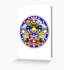 Mariokart Weapons Stash Greeting Card