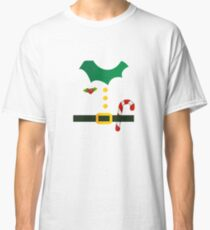 Christmas Elf Suit funny christmas Kids Men Women Classic T-Shirt