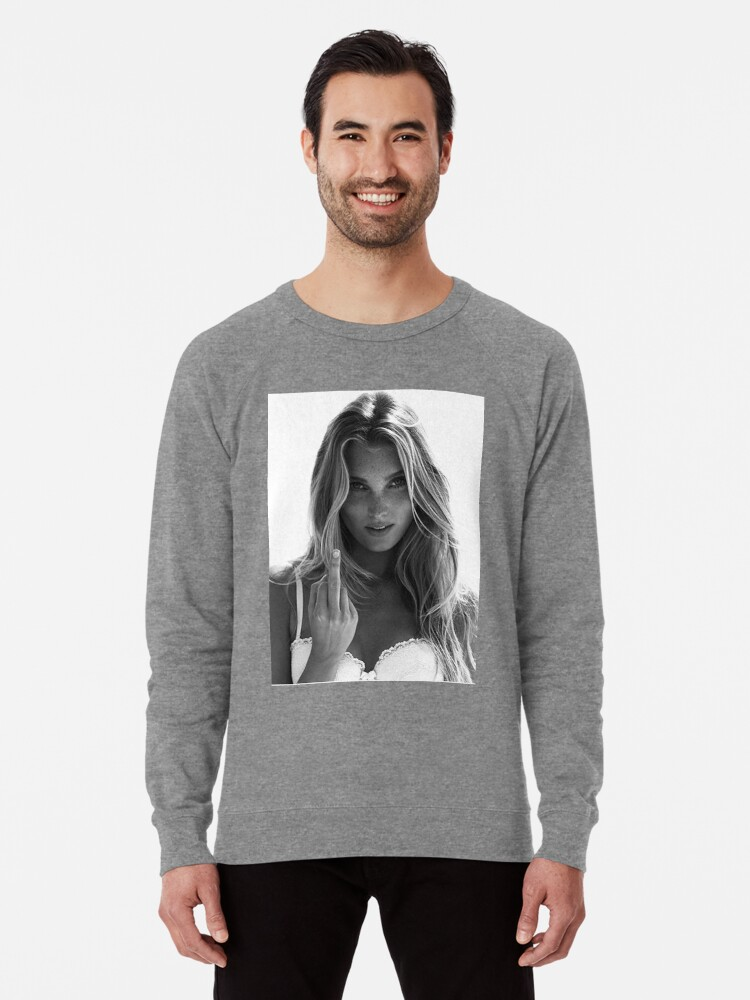 275e365dc2e41 'Elsa Hosk Victoria Secret' Lightweight Sweatshirt by stephansol