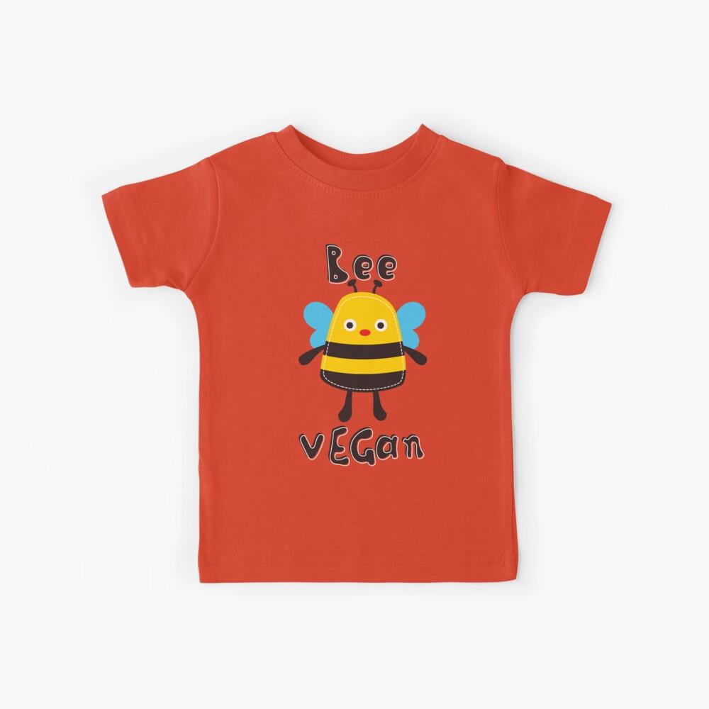BEE VEGAN Kinder T-Shirt