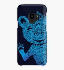 Blue Berlin Bear Goes Boom Case/Skin for Samsung Galaxy