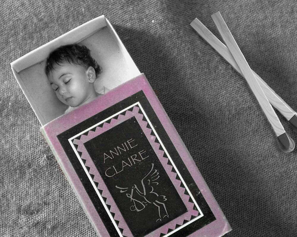 Annie in a matchbox by jessica voss
