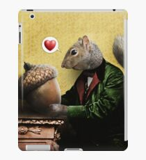 Mr. Squirrel Loves His Acorn iPad Case/Skin